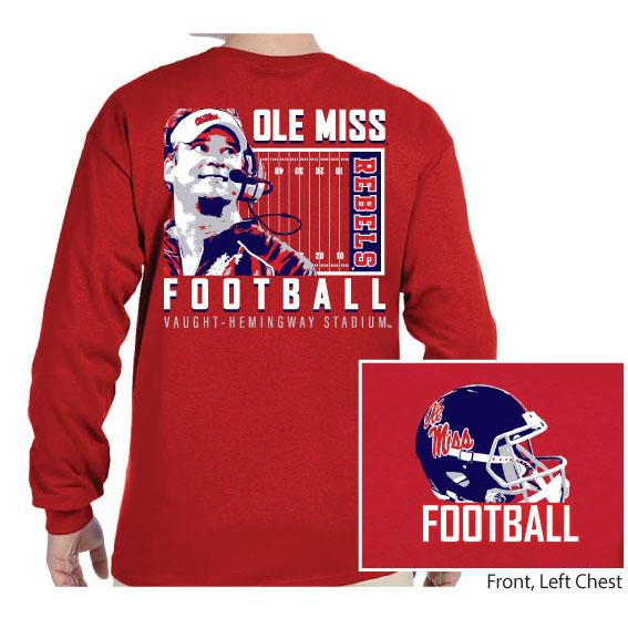 Ole Miss Football Kiffin Ls Tee