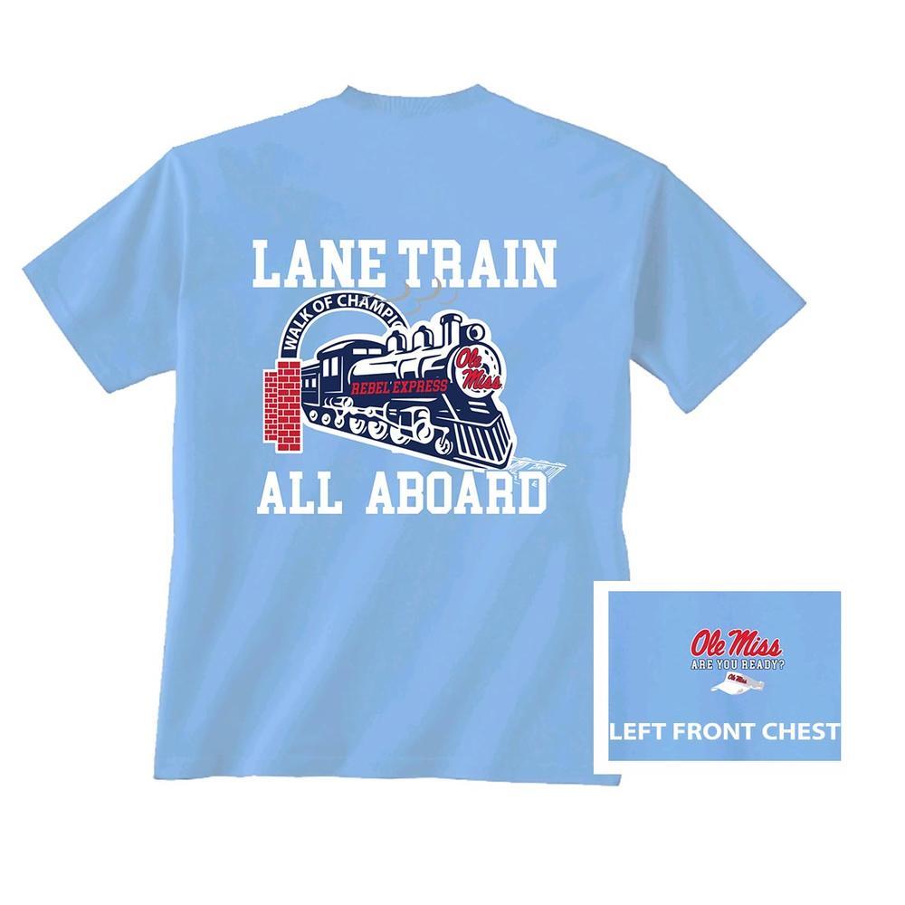 Ss Lane Train Tee