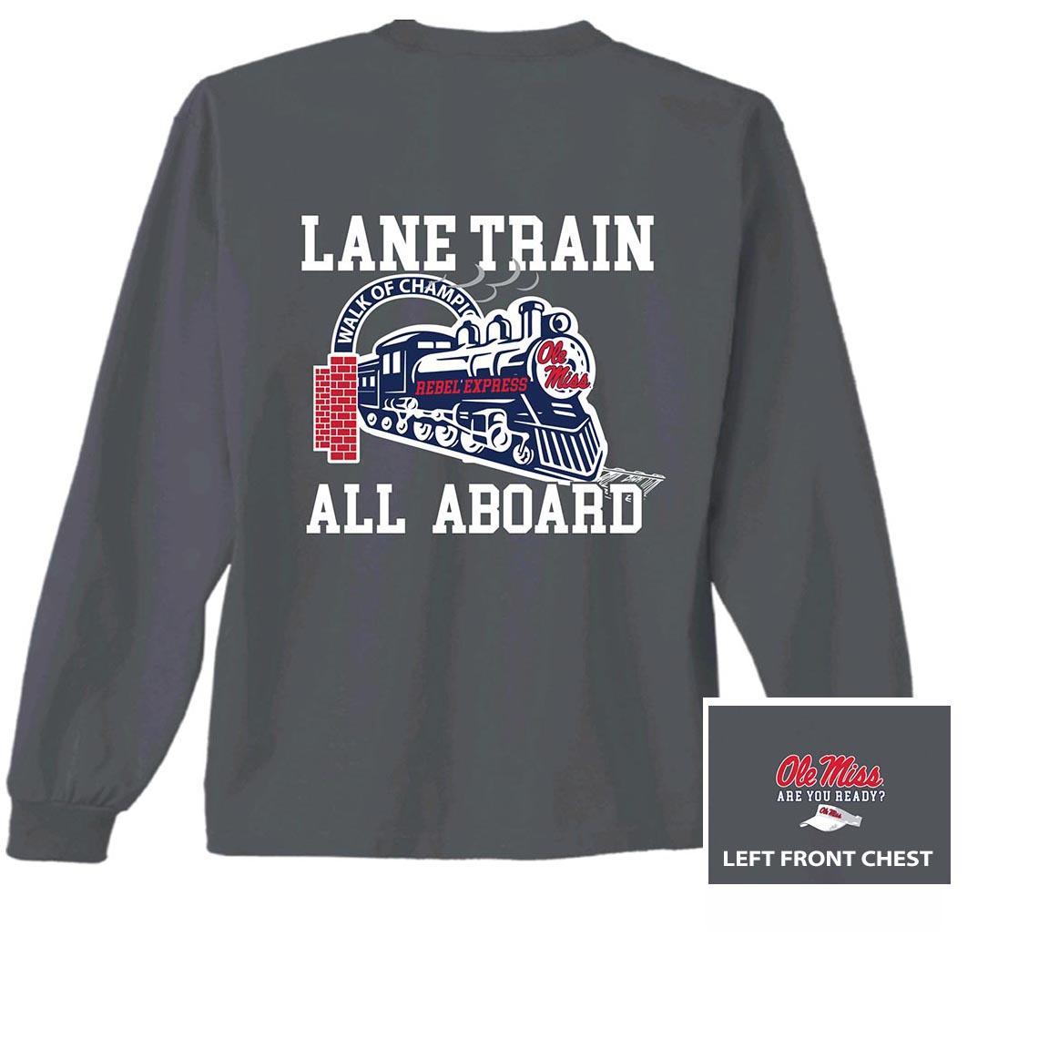 Youth Ls Lane Train Tee