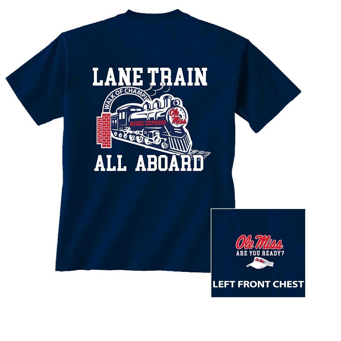 Youth Ss Lane Train Tee