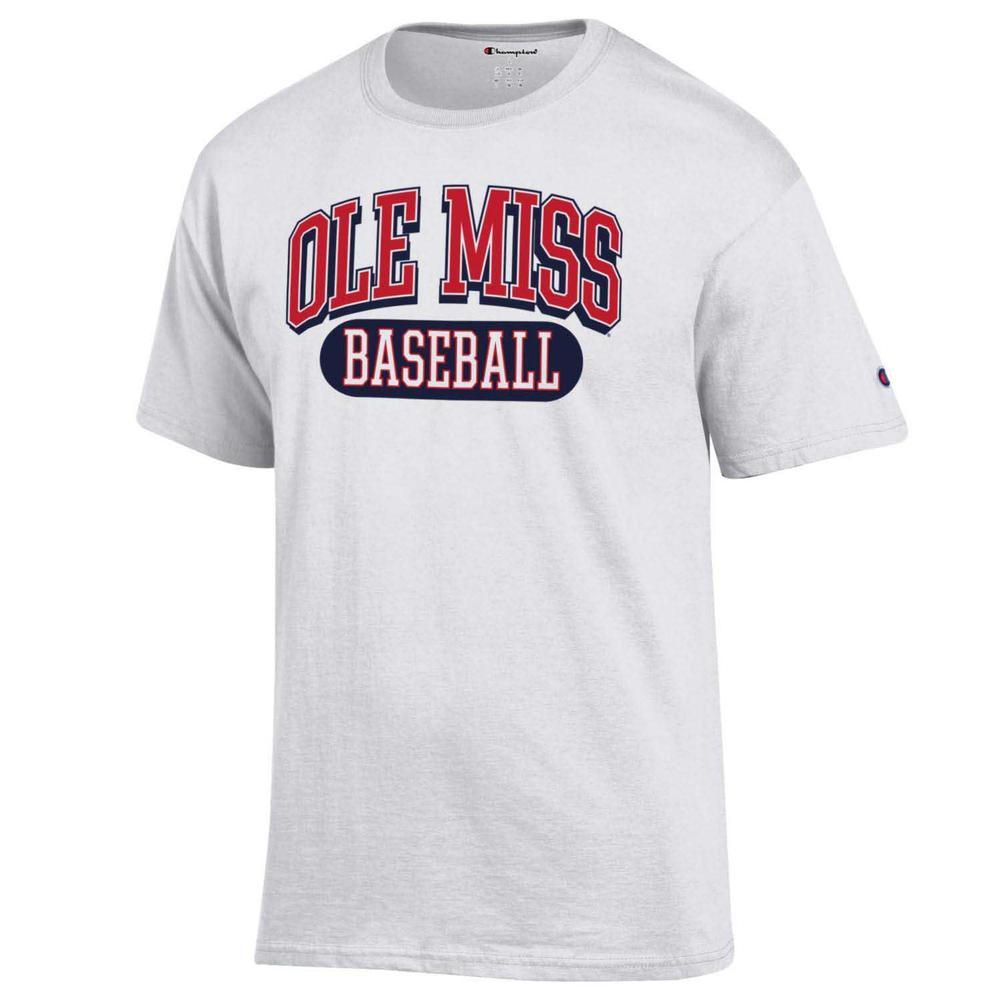 Ole Miss Baseball Ss Tee