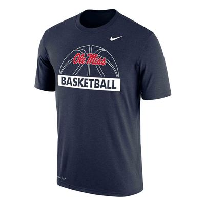 DRI-FIT OLE MISS BASKETBALL TEE