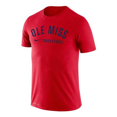 OM BASKETBALL LEGEND TEE RED