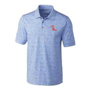 OLE MISS STACKED ADVANTAGE SPACE DYE POLO