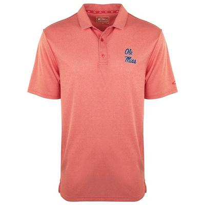 OLE MISS VINTAGE HEATHER POLO