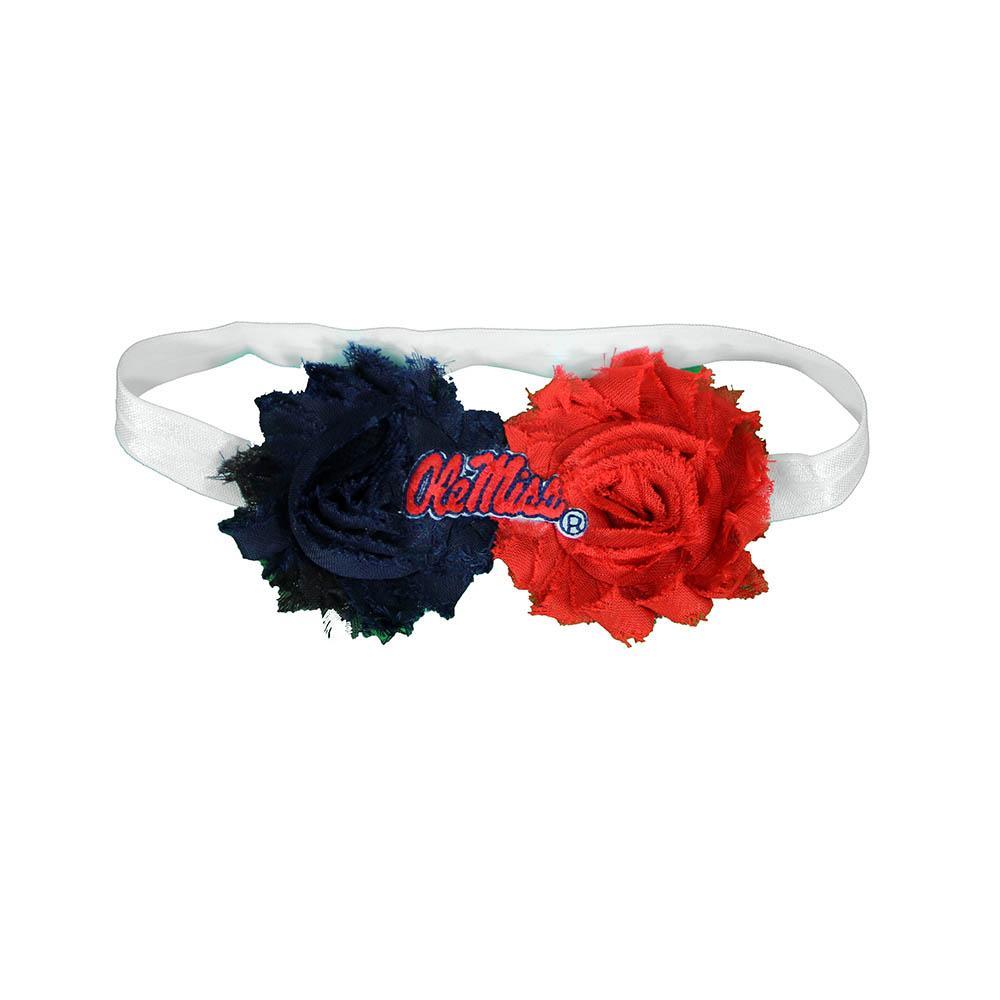 Ole Miss 2 Color Headband