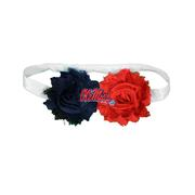 OLE MISS 2 COLOR HEADBAND