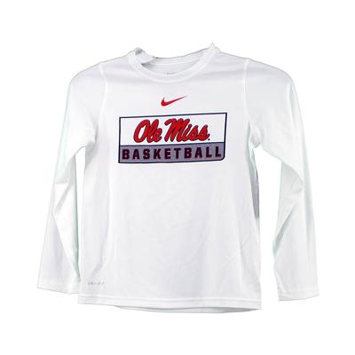 LS OLE MISS BASKETBALL LEGEND TEE