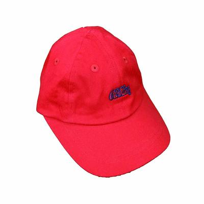 OM INFANT BALL CAP RED