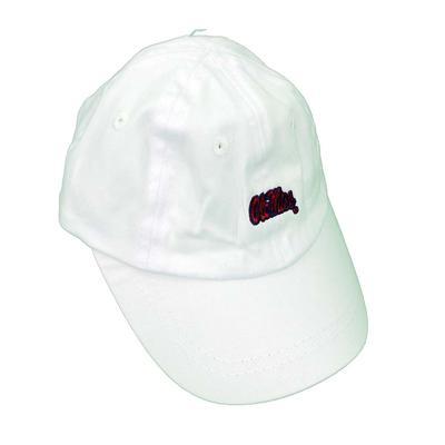 OM INFANT BALL CAP WHITE