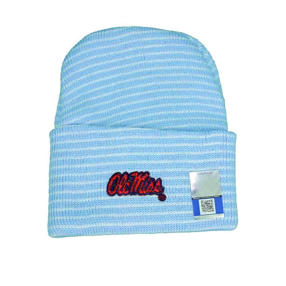 Om Stripe Knit Cap