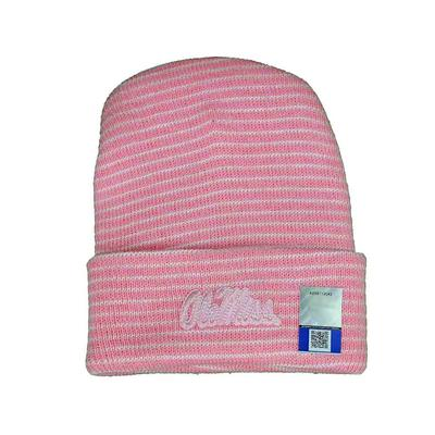 OM STRIPE KNIT CAP