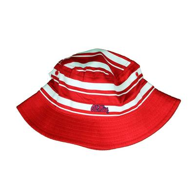 OM RUGBY BUCKET HAT RED