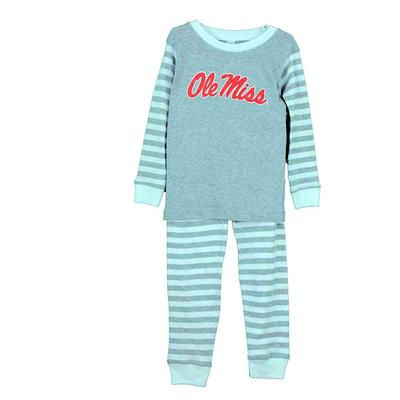 OLE MISTT STRIPED PAJAMA HEATHER