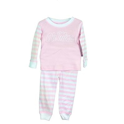 OLE MISTT STRIPED PAJAMA PINK