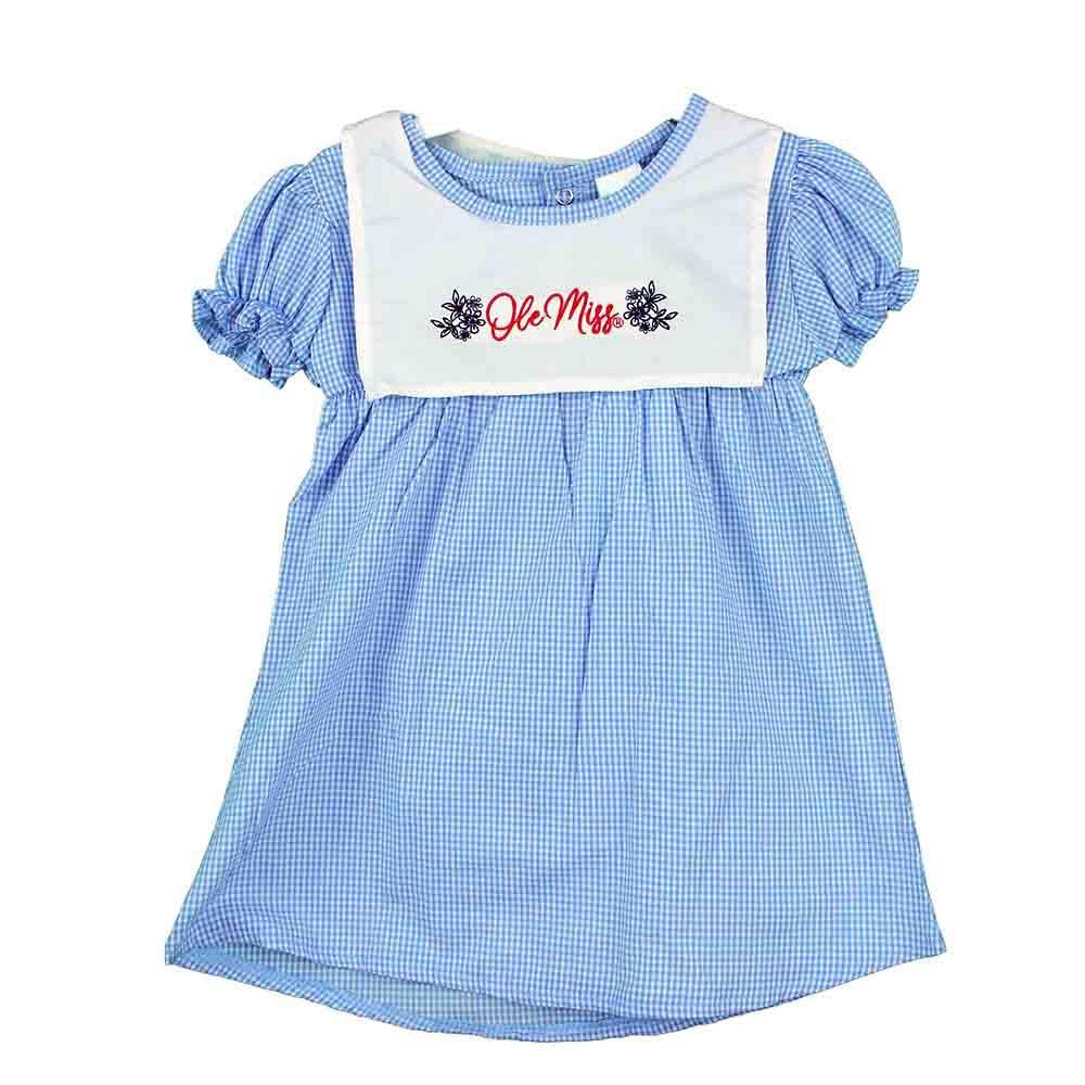 Toddler Woven Checkered Dress