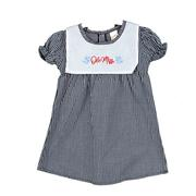 INFANT WOVEN CHECKERED DRESS