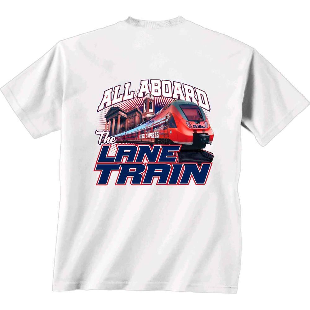 Ss Rebel Express Lane Train Tee