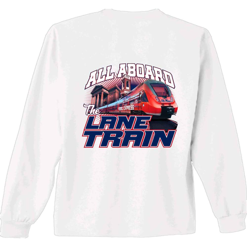 Yth Ls Rebel Express Lane Train Tee