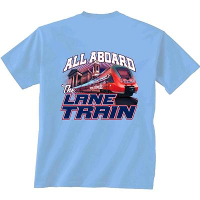 YTH SS REBEL EXPRESS LANE TRAIN TEE CAROLINA_BLUE