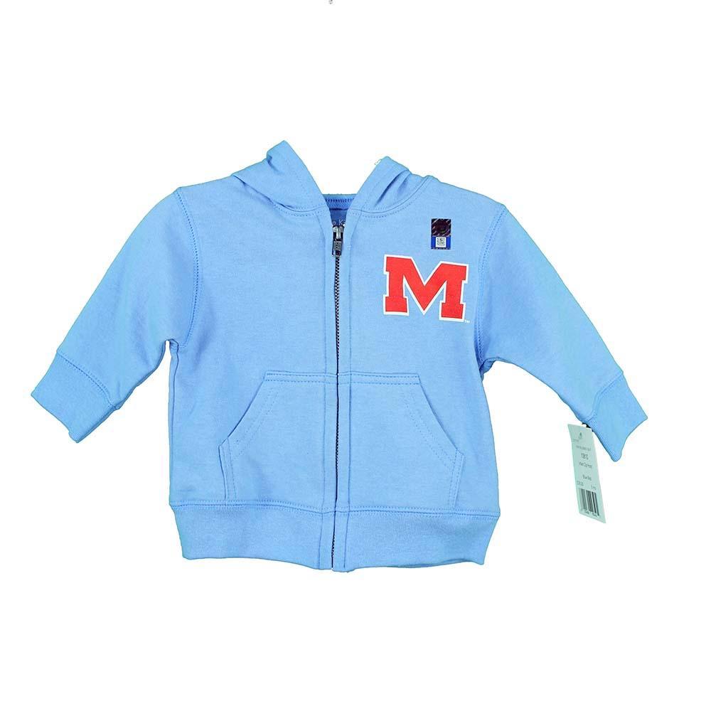 Om Infant Zip Hood