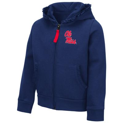 TODDLER GIRLS VINA FULL ZIP HOODIE