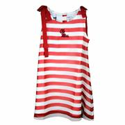 YOUTH OLIVE GIRL STRIPE DRESS