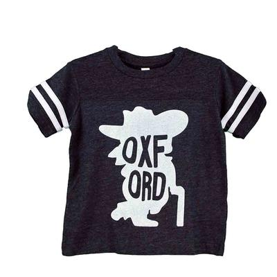 OXFORD YOUTH SS JERSEY TEE NAVY
