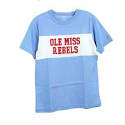 OLE MISS BOYS PANEL TEE