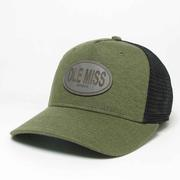 OLIVE OLE MISS ROADIE TRUCKER CAP