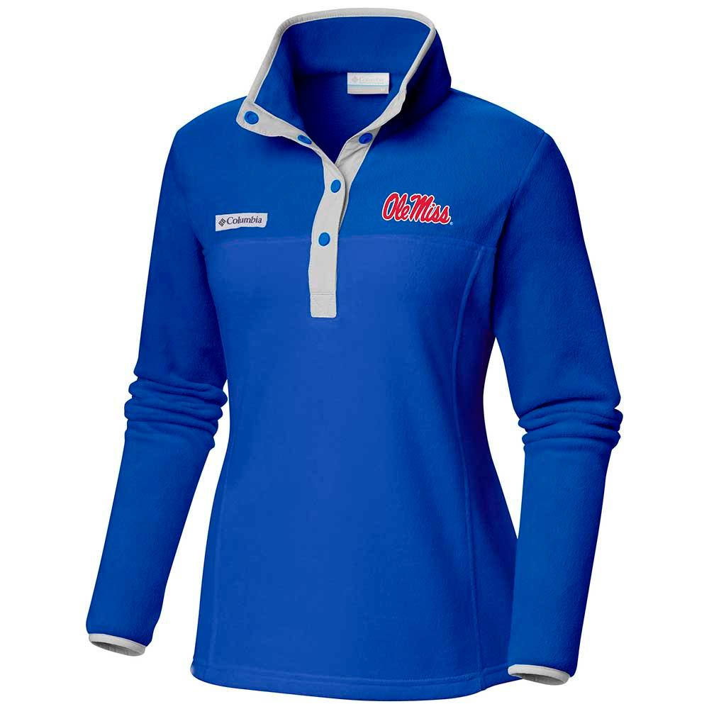 Ole Miss Benton Springs Half Snap Pullover