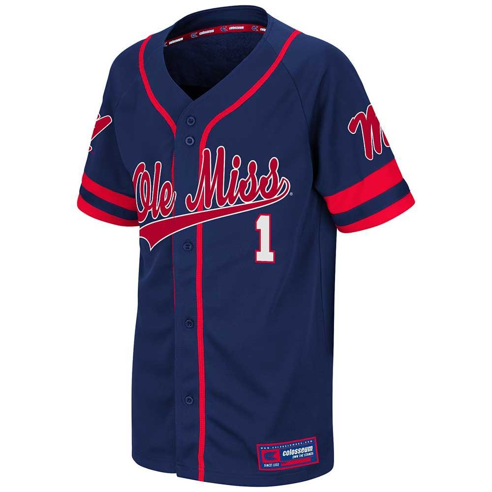 Yth Ole Miss Bam- Bam Baseball Jersey