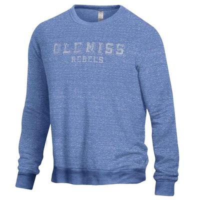 THE CHAMP OLE MISS REBELS CREW BLUE