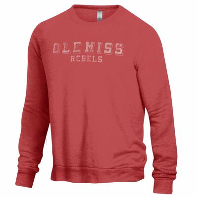 THE CHAMP OLE MISS REBELS CREW RED