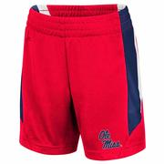TODDLER OLE MISS RUBBLE SHORTS
