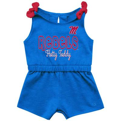 INFANT OLE MISS HAPAROO ROMPER