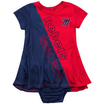 INFANT OLE MISS GREAT GAZOO DRESS