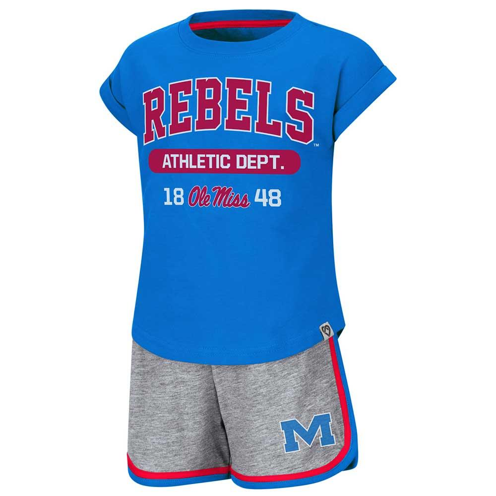 Toddler Ole Miss Charge It Shorts