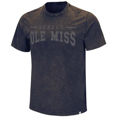 OLE MISS REGRET NOTHING TEE NAVY