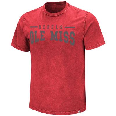 OLE MISS REGRET NOTHING TEE RED