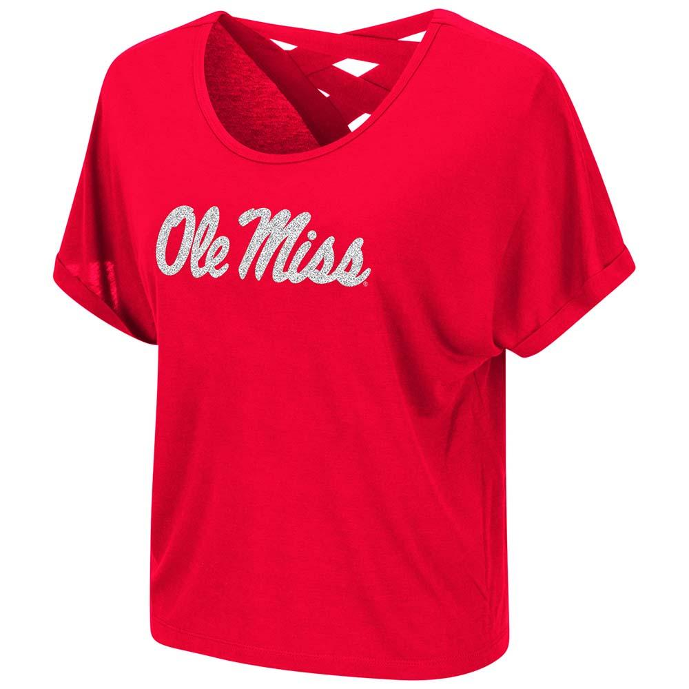 Ole Miss Lucy Strappy Tee