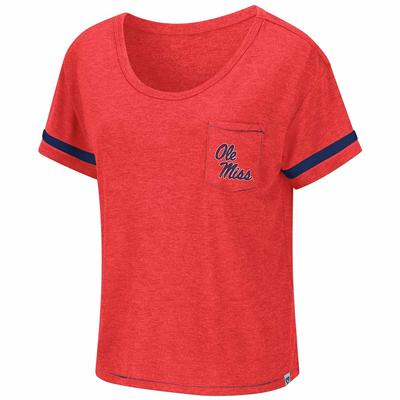 OLE MISS WAFFLES MEET AND GREET TEE RED
