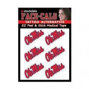 6PK MOVABLE FACE DECAL