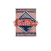 OLE MISS REBELS DIAMOND PIN