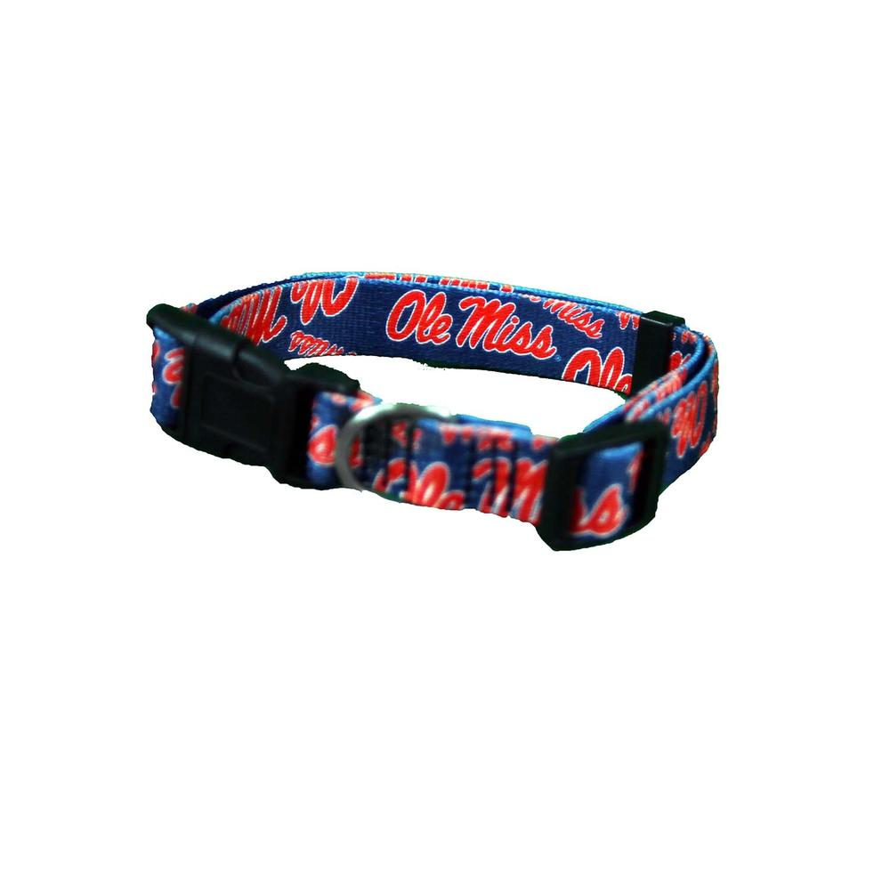 Ole Miss Pet Team Collar