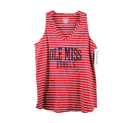 OLE MISS MARGO TANK RED