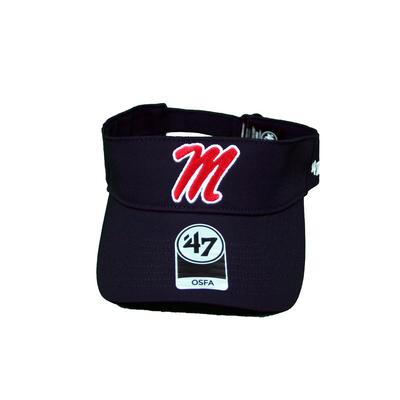 OLE MISS ELLIOT 47 VISOR NAVY