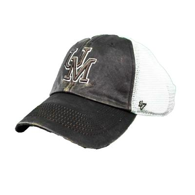 OLE MISS VIN OIL CLOTH SNAP BACK
