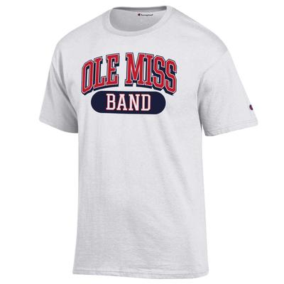 OLE MISS BAND SS TEE