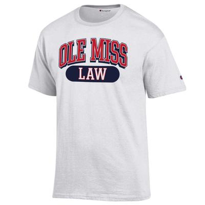 OLE MISS LAW SS TEE WHITE